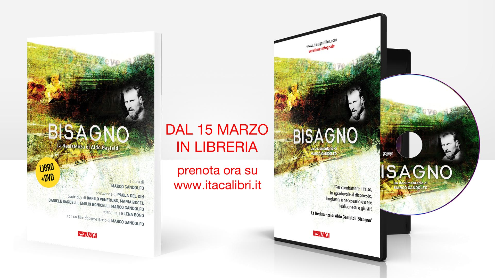 Bisagno. Con Dvd La resistenza di Aldo Gastaldi. Marco Gandolfo | Libro | Itacalibri